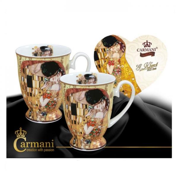 Set skodelic za čaj, Set skodelic za kavo, Klimt, darila za rojstni dan, poslovna darila, kaj kupiti za darilo, darila za obletnico