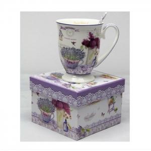 Skodelica za čaj, Skodelica za kavo, Provansa, darila za rojstni dan, poslovna darila, kaj kupiti za darilo, darila za obletnico