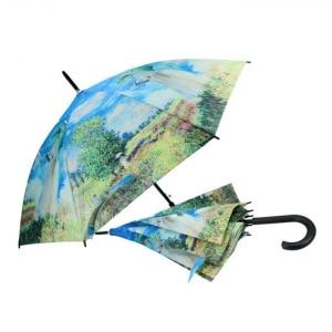 Dežnik, Claude Monet, Ženska s sončnikom, darila za rojstni dan, poslovna darila, kaj kupiti za darilo, darila za obletnico, kaj kupiti za rojstni dan