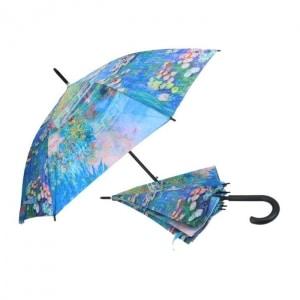 Dežnik, Claude Monet, vodne lilije, darila za rojstni dan, poslovna darila, kaj kupiti za darilo, darila za obletnico, kaj kupiti za rojstni dan