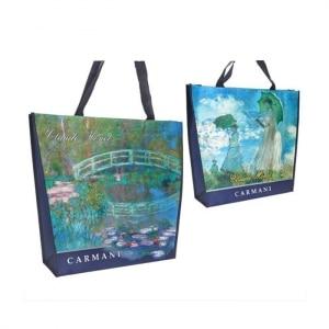 vreča. darila za rojstni dan, darila za njo, Claude Monet