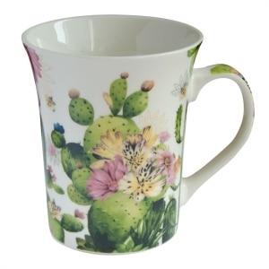 skodelica, darilo, kaktus, skodelica za čaj, skodelica za kavo