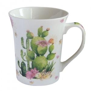 skodelica, kaktusi, darila, skodelica za čaj