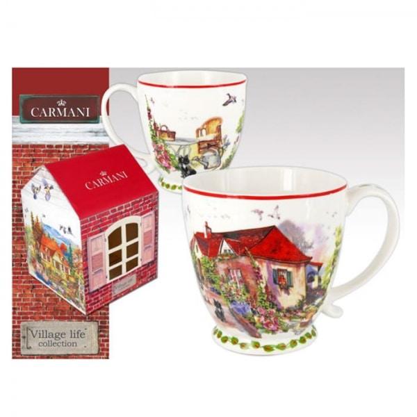 skodelica za čaj, skodelica za kavo, darilo, Village life collection