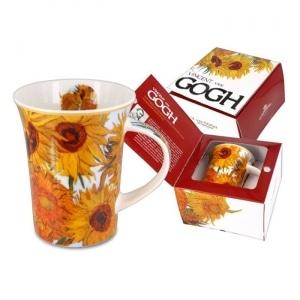 skodelica za kavo, skodelica za čaj, darilo, vincent van gogh, sončnice