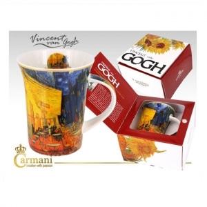 skodelica, darilo, vincent van gogh, kavarniška terasa ponoči