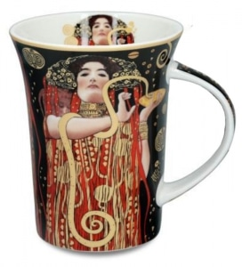 Gustav Klimt, higeia, skodelica, secesija, portret