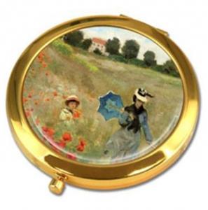 Makovo polje, žepno ogledalo, Claude Monet, življenjepis, impresionizem